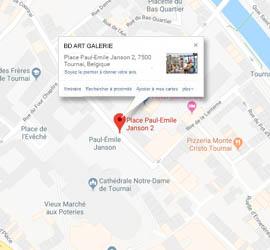 Adresse Boutique BD Art Galerie